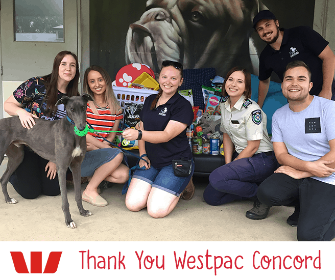 Thank You Westpac Concord