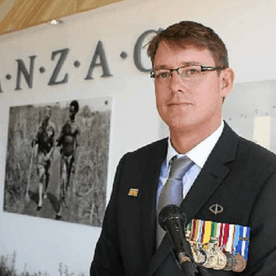 Jamie Tanner Anzac Day