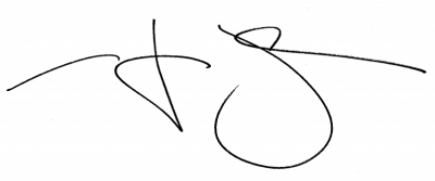 Doctor style handwriting on a white background