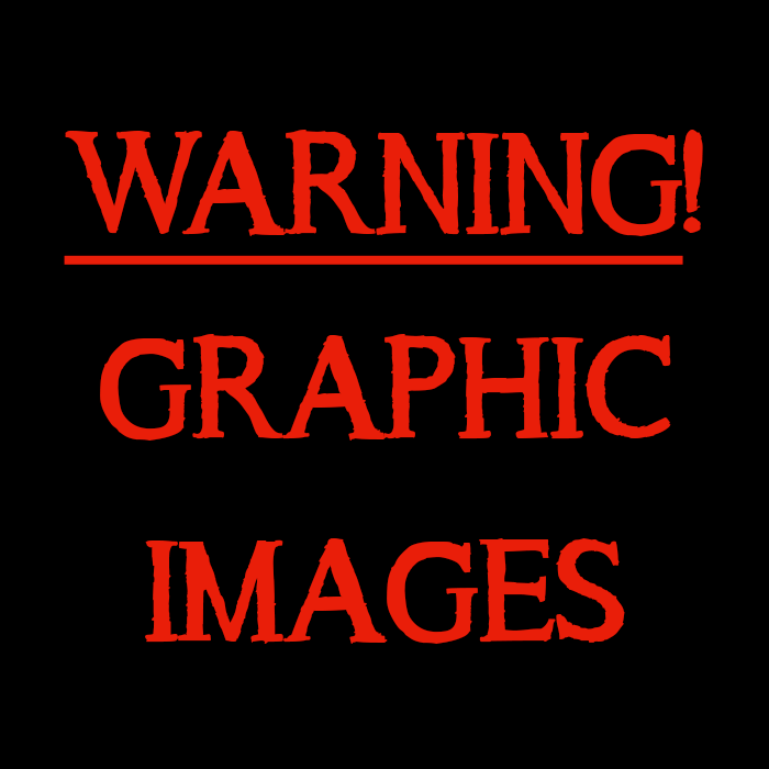 Warning Graphic Images Red Advice